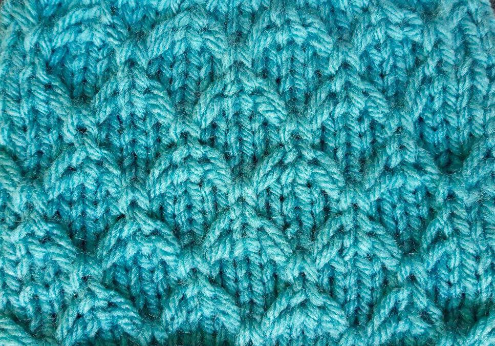 Mermaid stitch tutorial - stitch no.31